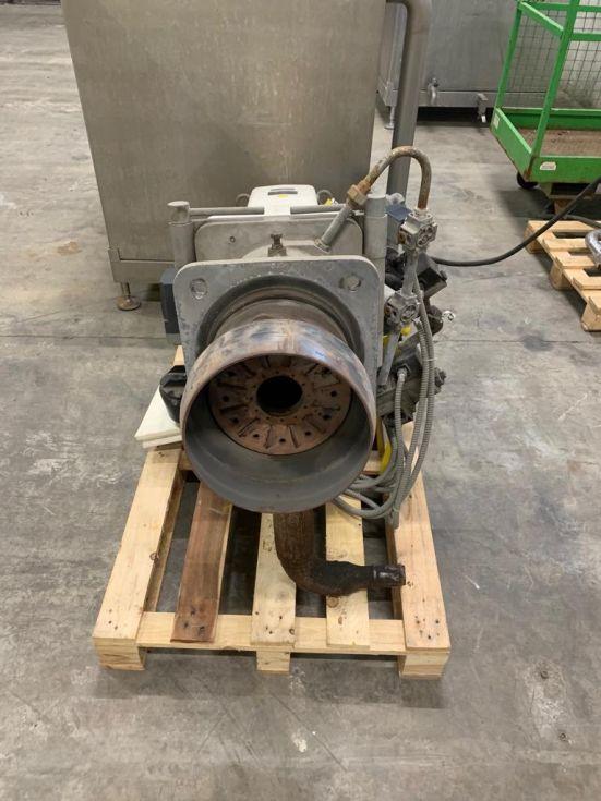 Quemador de caldera de vapor a gas natural elko klocknel de segunda mano