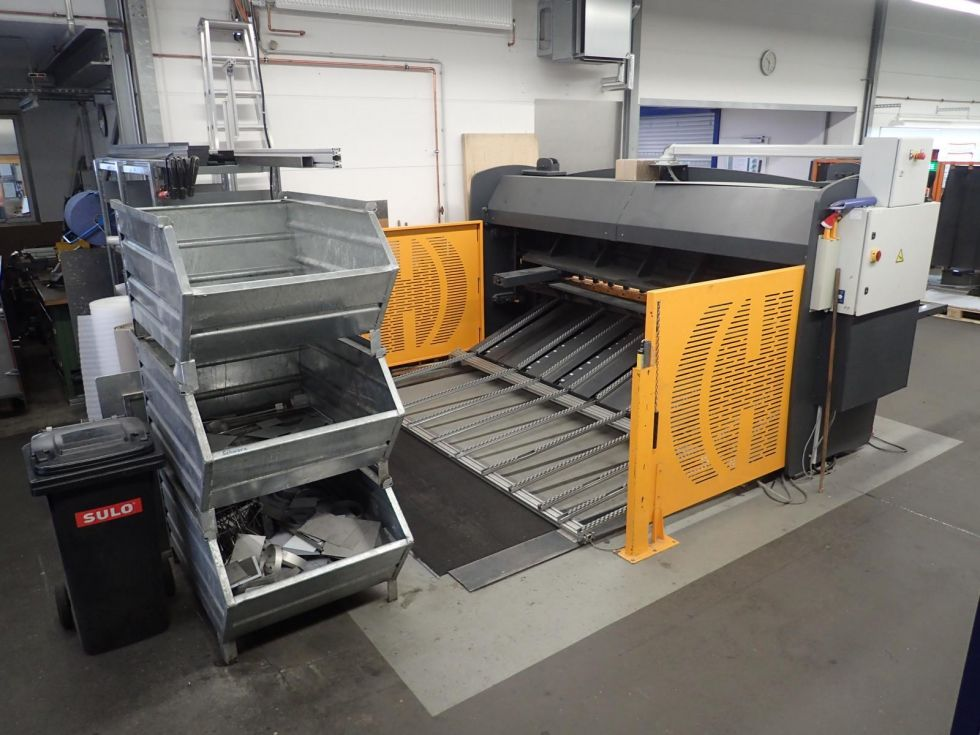 HACO Guilotine HSLX 3000 x 6 mm Cybelec Touch 5122 = Mach4metal