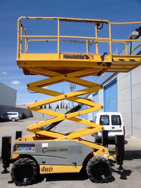 plataforma elevadora de tijera diesel