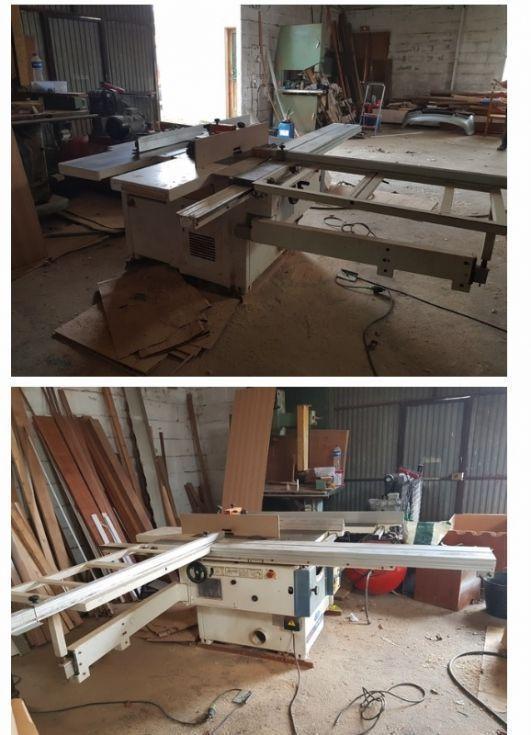 Combinada carpinteria minimax cu 350 k