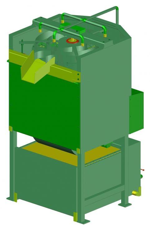 Procesador de Tuberculos, planos completos de todas las piezas y montaje.