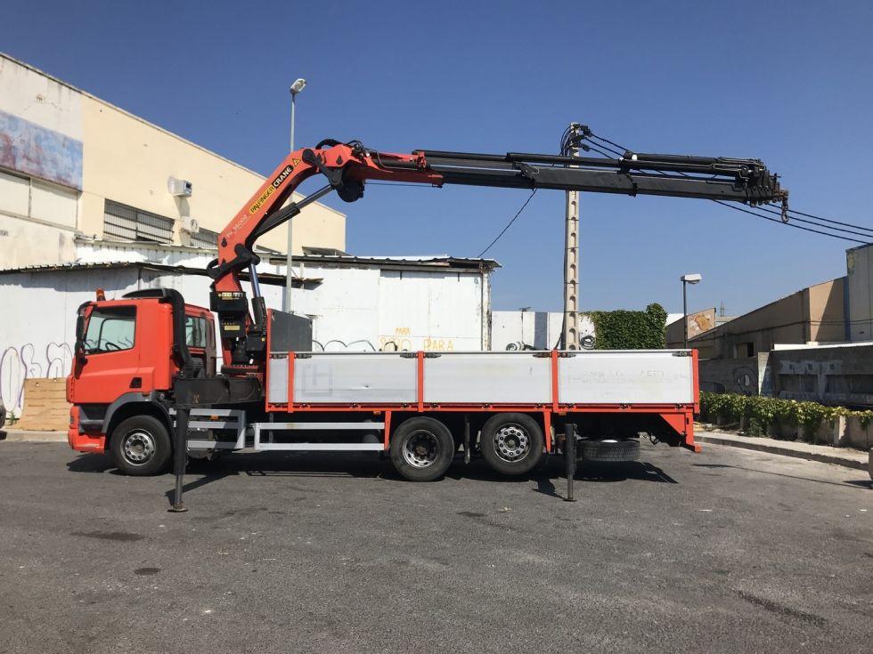 Camión grua Daf Cf 85.340 Palfinger 36002