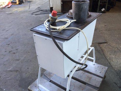 Horno de fundición gas butano