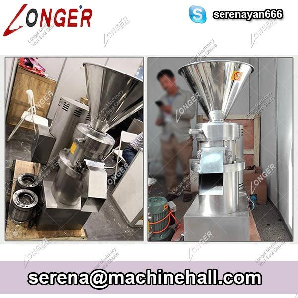 Almond Peanut Butter Grinding Machine Stainless Steel