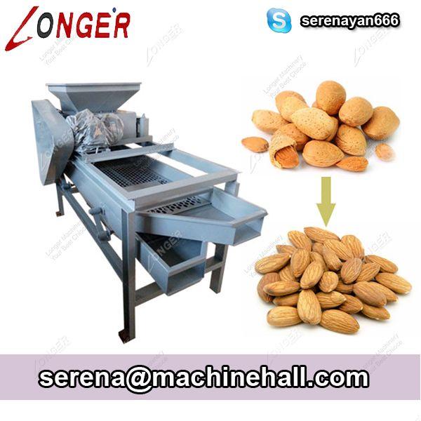 Automatic Almond Hazelnut Cracking and Shelling Machine