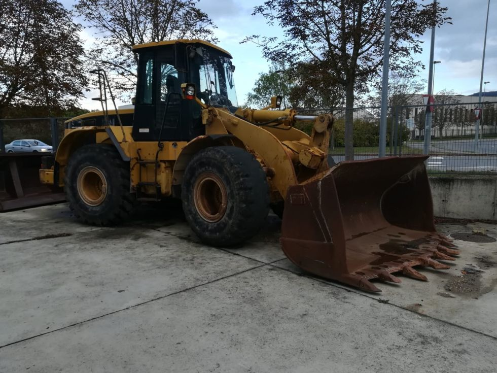 Pala cargadora ruedas