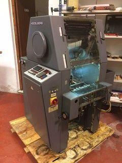 Impresora ofsset