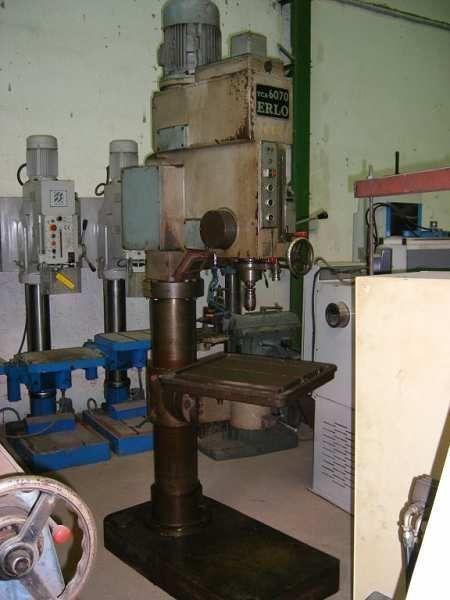 Taladro de columna Erlo TCA60/70