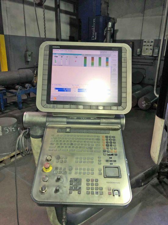 DMU 80P duoBLOCK 5 Axis X 800 / Y 1050 / Z 850 mm 5152 = Mach4metal