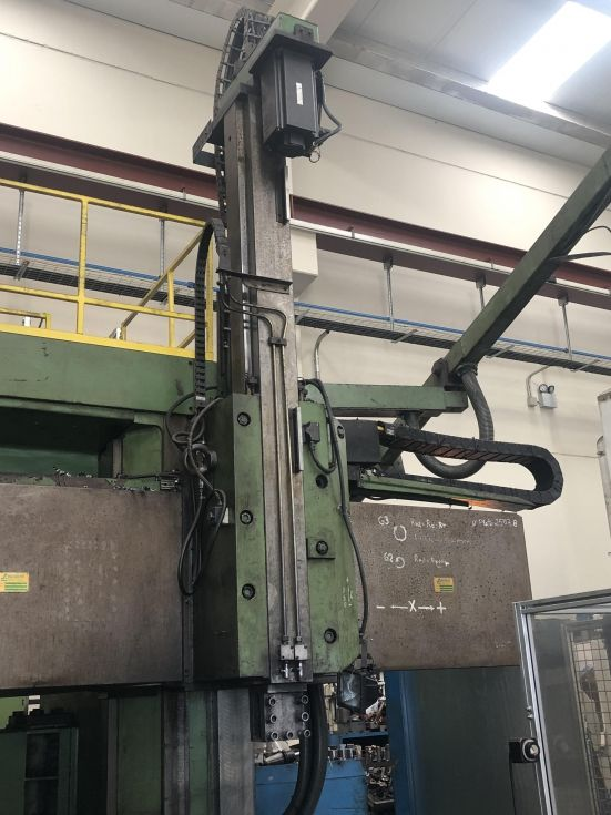 Torno Vertical Doble Columna CNC