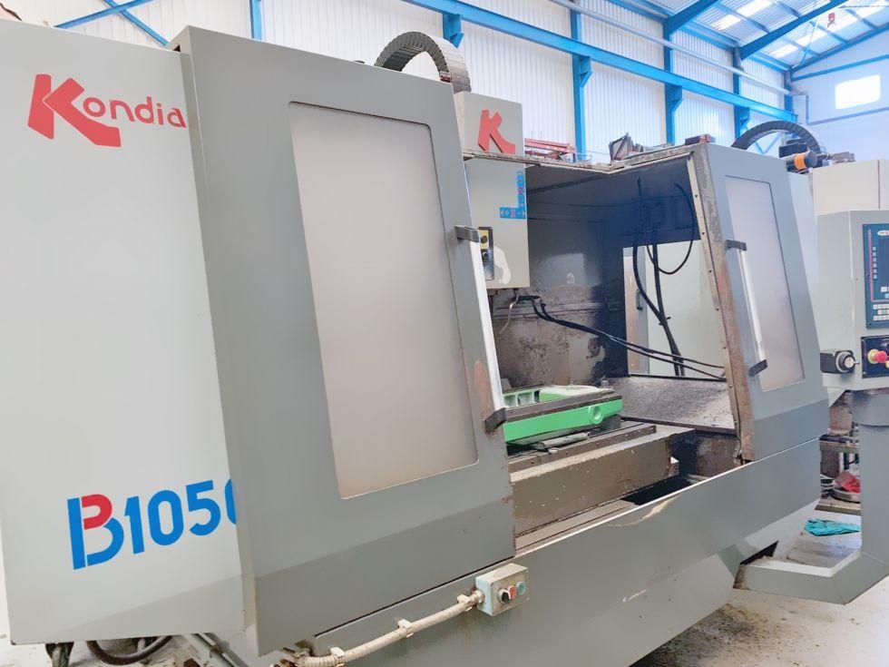 Centro de mecanizado vertical KONDIA B1050