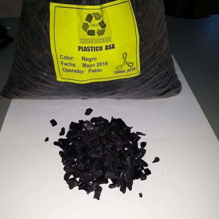 Polipropileno negro molido