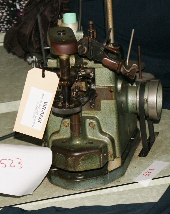 Máquina de coser grega