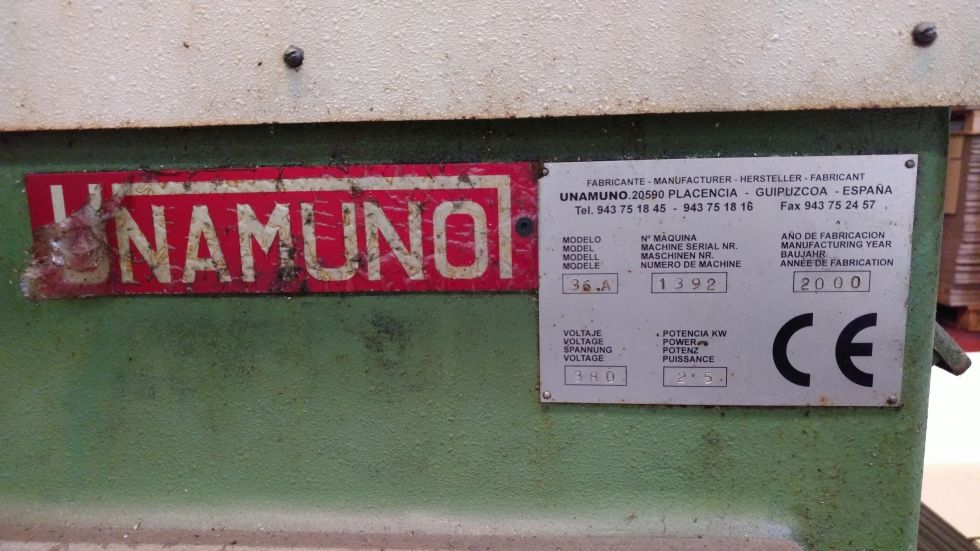 Torno automático de levas Unamuno, 36.A