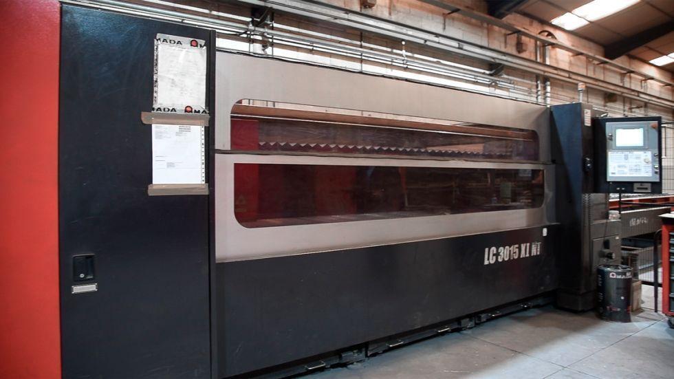 Maquina corte por laser