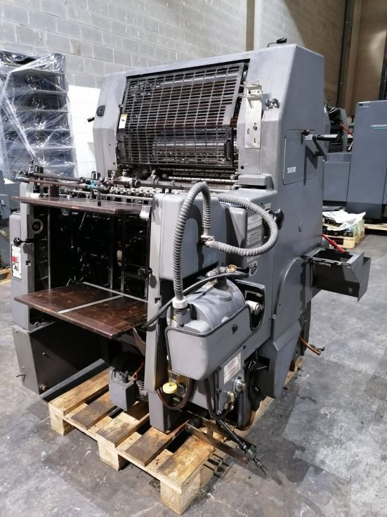 Heidelberg GTO52+