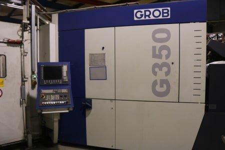 2 centros de mecanizado universales de 5 ejes GROB G350