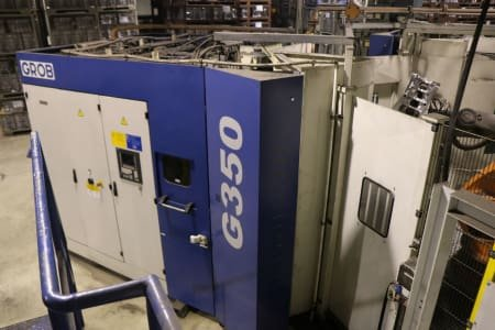 Centro de mecanizado universal GROB G 350