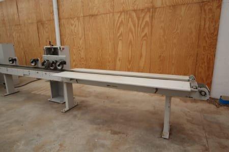 Línea de Corte y Moldurado WEINIG OPTICUT 200 / POWERMAT 1200