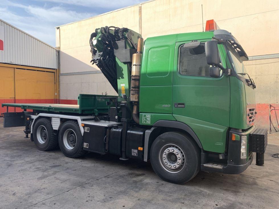 Camion Tractora Volvo Fh 460 grua Palfinger 44002 + Jib