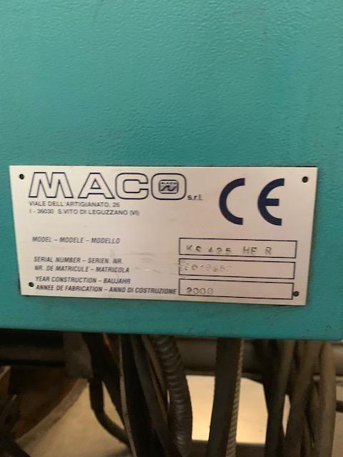 Tronzadora de disco automatica.