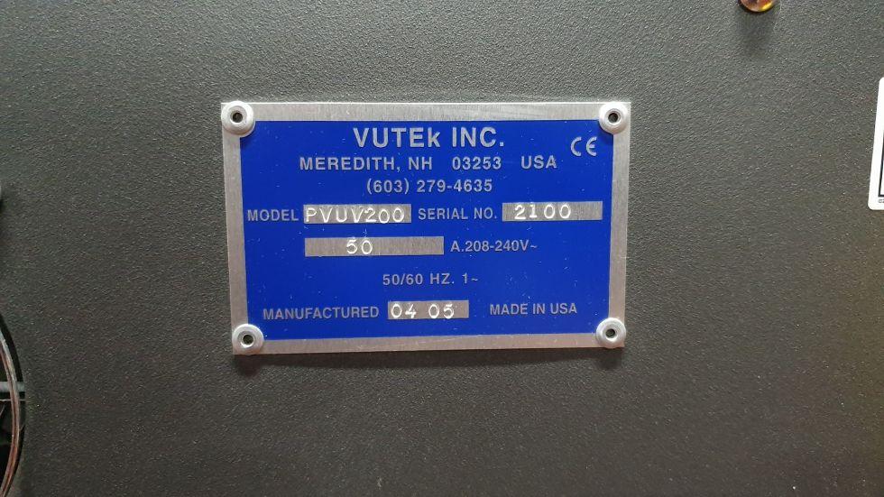 Despiece de VuteK PressVu 200