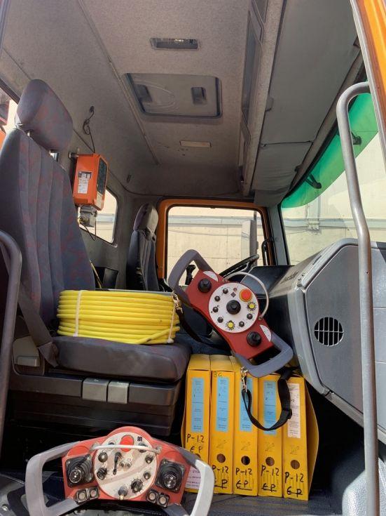 Camion Bomba de hormigon Mercedes Actros 2635 Putzmeister BRF 36.14