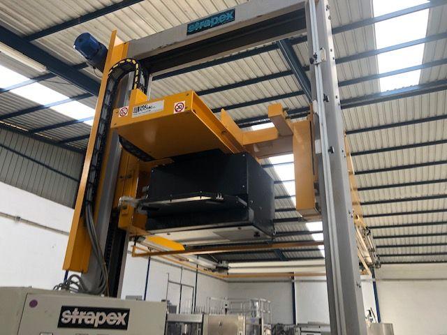 Máquina flejadora automática vertical STRAPEX