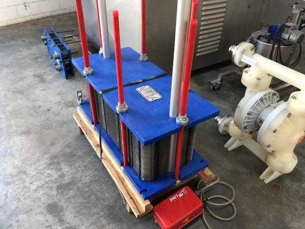 Intercambiador de placas en acero inoxidable ALFA LAVAL M10
