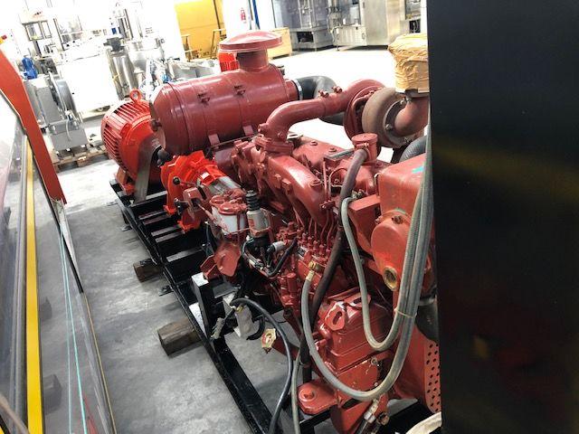 Equipo de presión contra incendios IVECO 8061