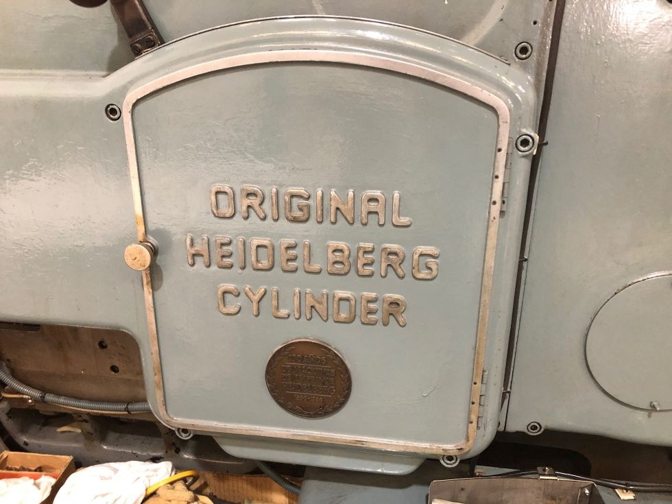 Impresora HEIDELBERG CYLINDER