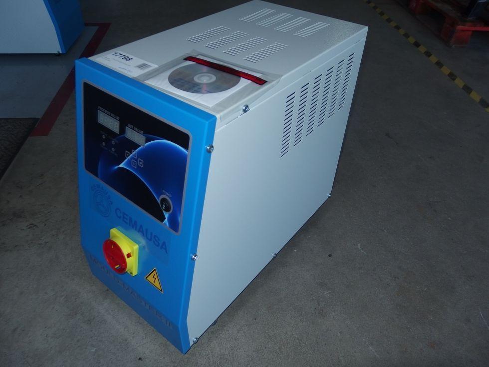 Atemperador molde 9 Kw 12 litros 90ºC.