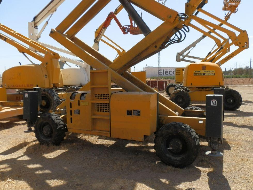 Elevador de tijera diesel 4x4