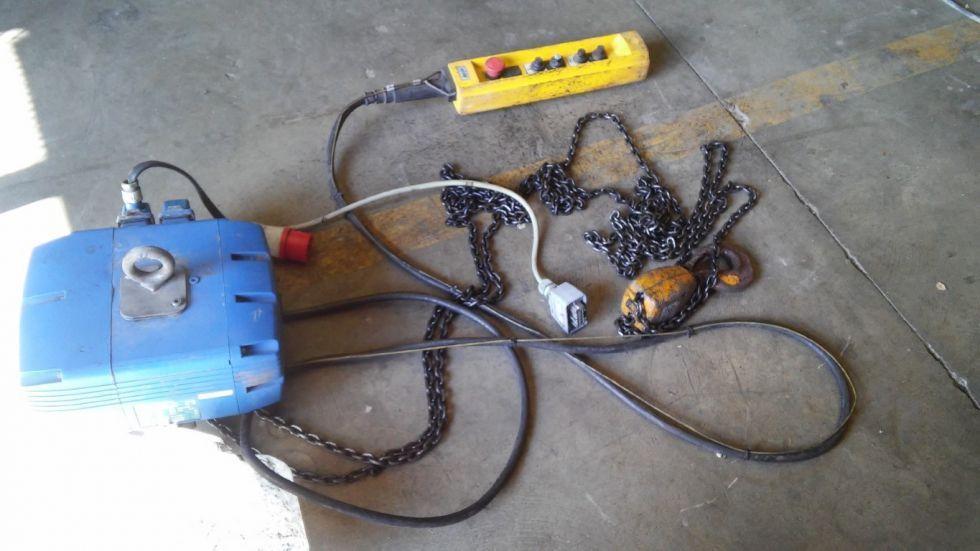 Polipasto de cadena