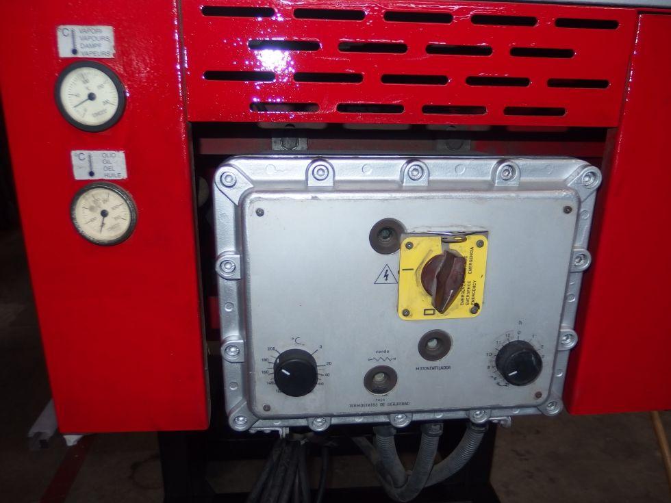 Destilador recuperador de disolvente, 120 litros