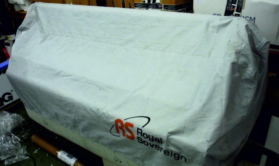 Se VENDE: Laminadora-Encapsuladora ROYAL SOVEREING RSC 1650 H/HR