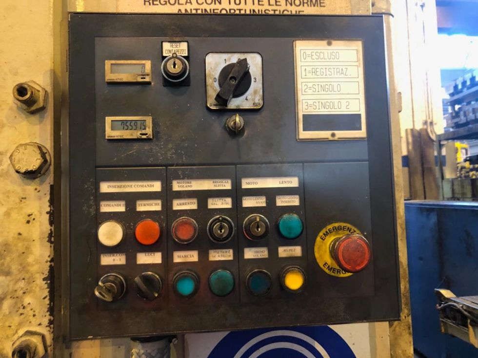 Mechanical Press H-Frame