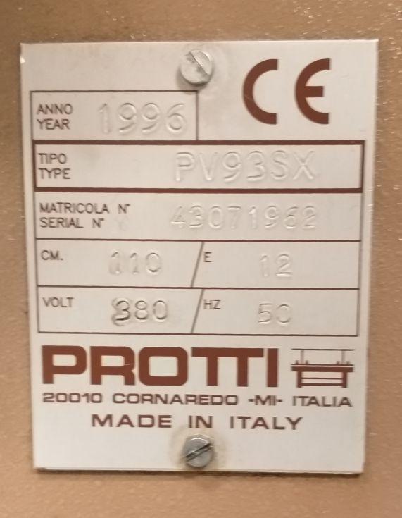 Máquina tricotosa PV93SX