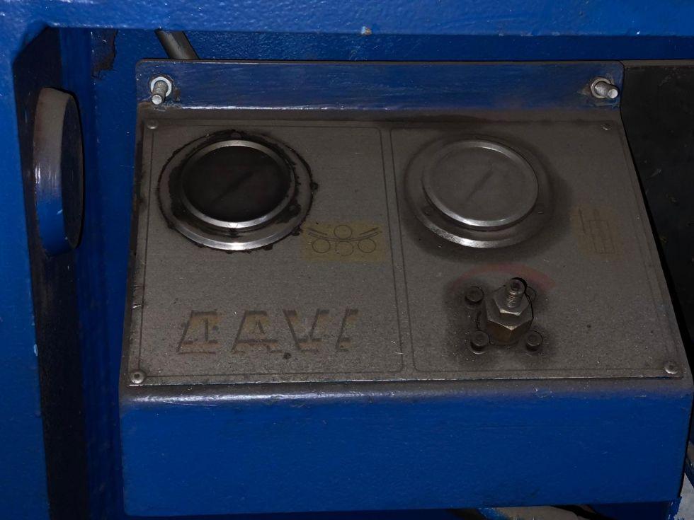 Davi 4 roll plate bender 2500 x 42 mm 5190 = Mach4metal