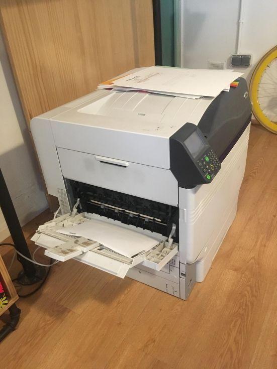 Máquina impresión digital
