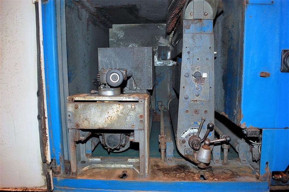 Desbarbado húmedo y máquina de acabado
