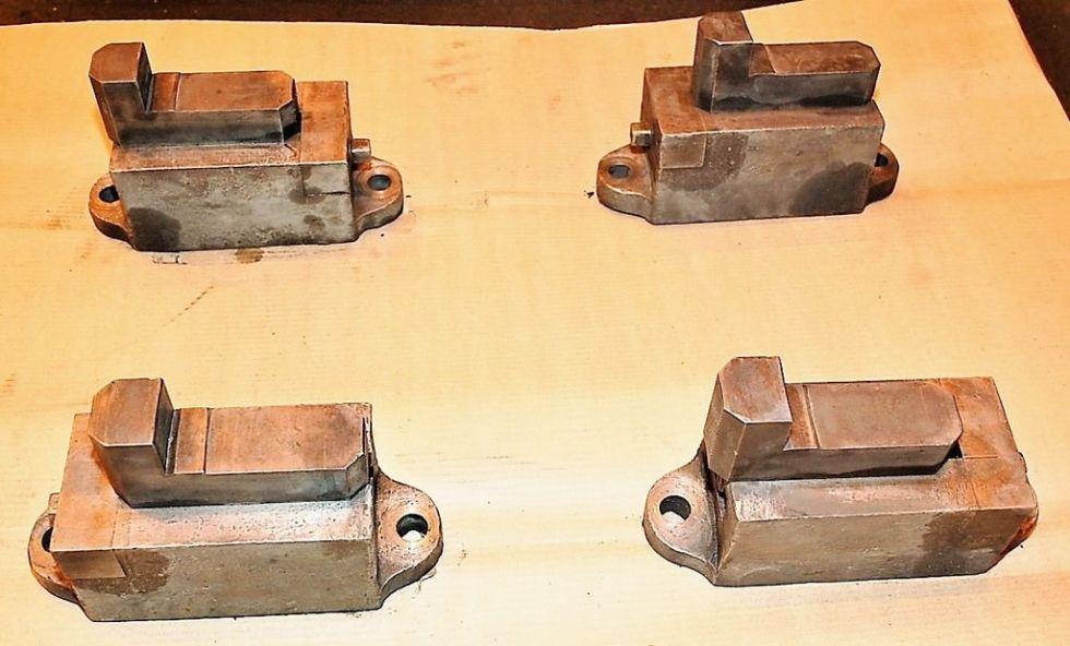 Herramientas y accesorios, mandíbulas de sujeción