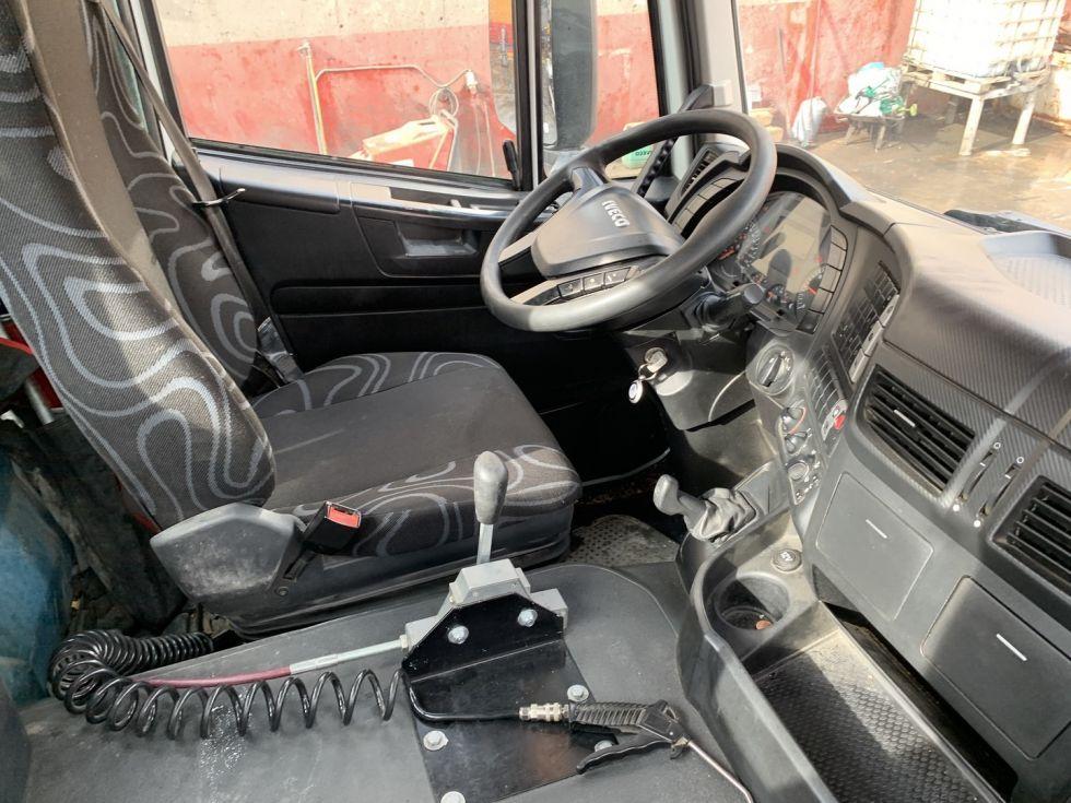 Camión hormigonera Iveco Trakker 400 Gicalla 10m3