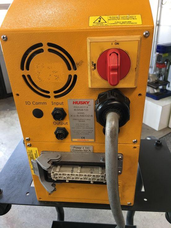 Atemperador canal caliente 6 zonas electrónico