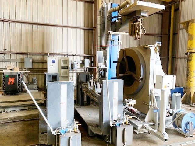 Cortadora de plasma de tubos, CNC