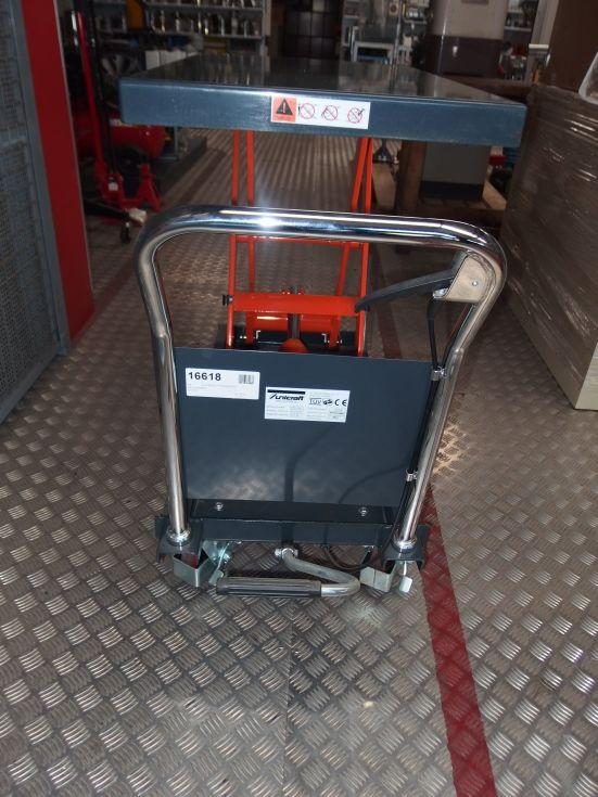 Mesa elevadora en tijera 500 Kgs.