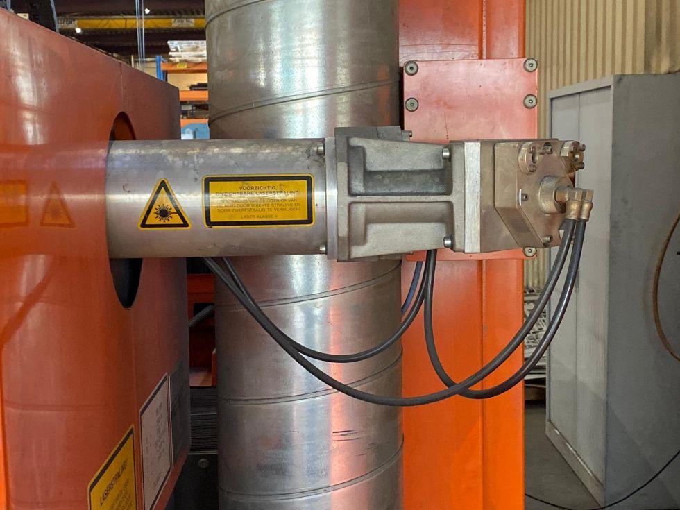Bystronic Bystar 3015 laser cutting with 3.5 kW resonator 5179 = Mach4metal