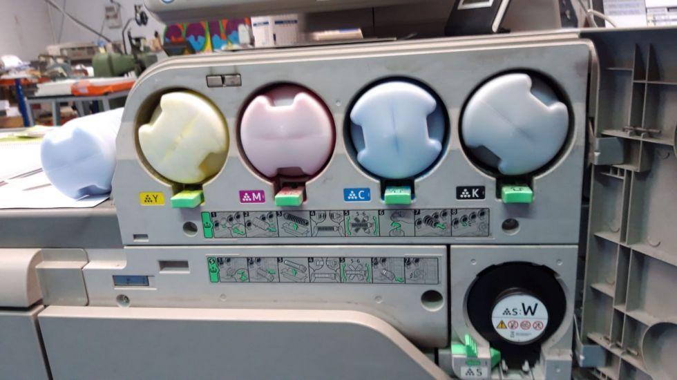 Impresora digital RICOH 7100X