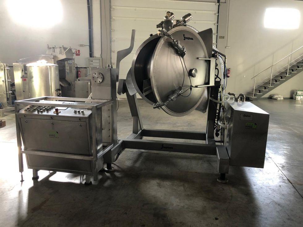Mezclador de doble cuerpo con vacío de capacidad 600 litros STEPHAN