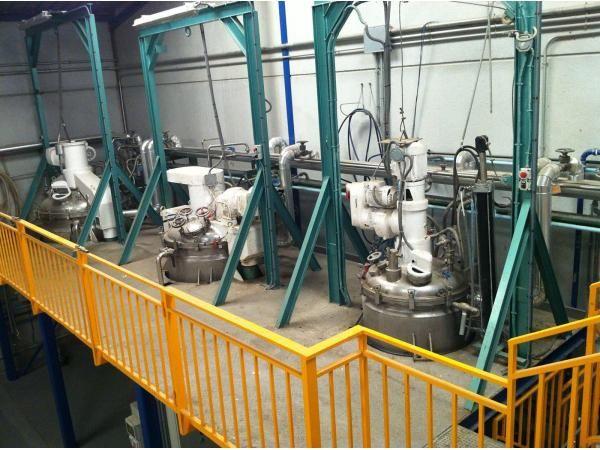 Reactores LLEAL modelo Triagi 1000-500-250 litros